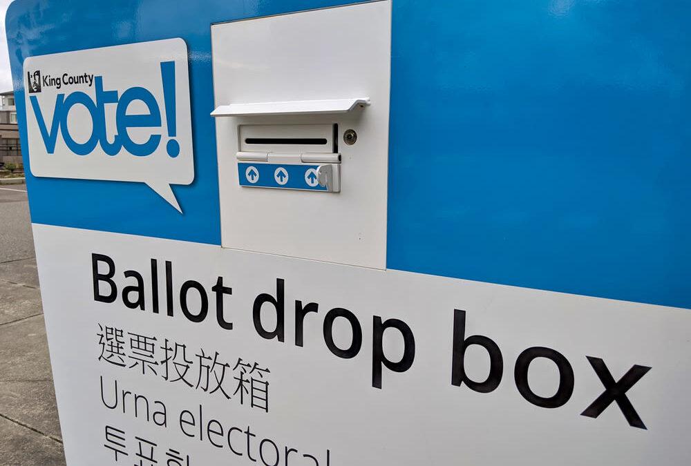 Image of a ballot drop box